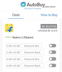 Realme 2 auto buy