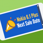 nokia 6.1 plus next sale date