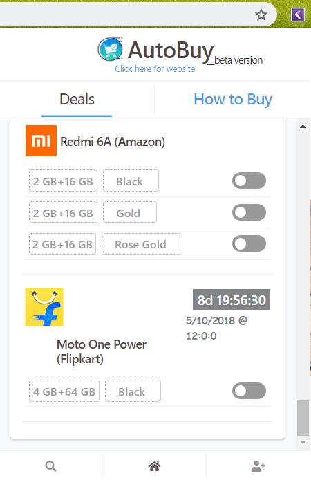 Moto One Power Auto Buy