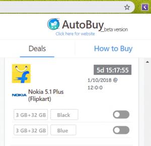 nokia 5.1 plus auto buy