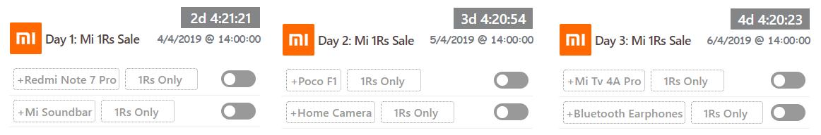 Mi 5Rs Flash Sale Auto Buy Trick - Mi Small = Big Sales are live