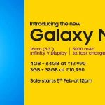 Galaxy M20 next sale date