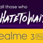 Realme 3 Pro next sale date