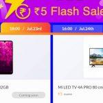 mi 5rs flash sale
