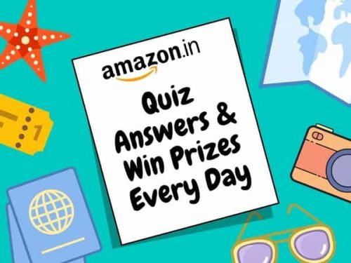 Amazon Quiz Answers Today 5th August & Win 10000 Rs Balance